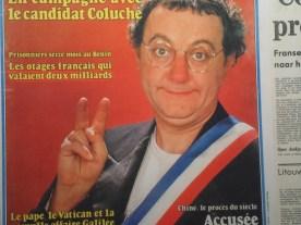 Coluche candidate