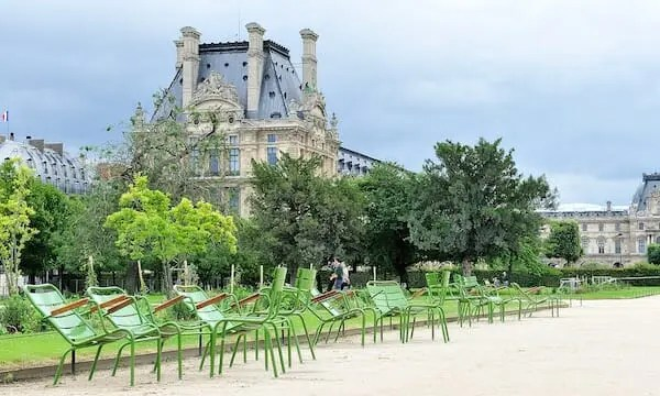 Jardin des Tuileries paris writing retreats june 2021 itinerary