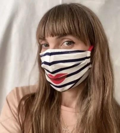 bisou face mask
