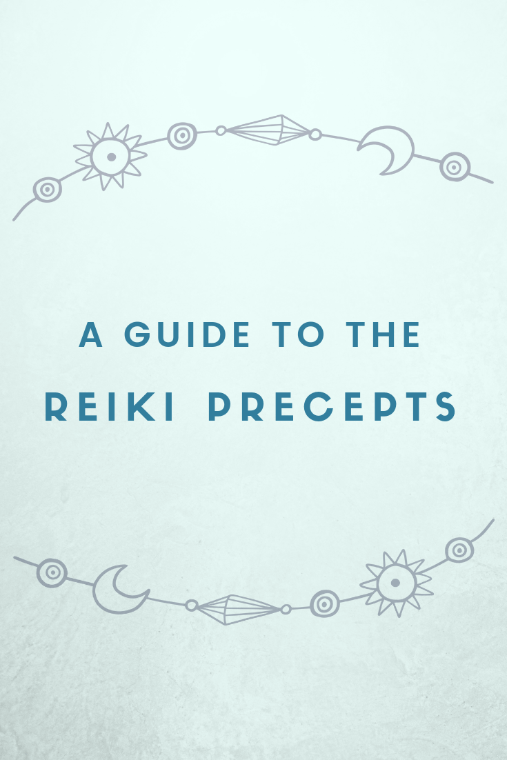 Discovering the Reiki Precepts