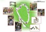 Игликина поляна - схема на съоръженията