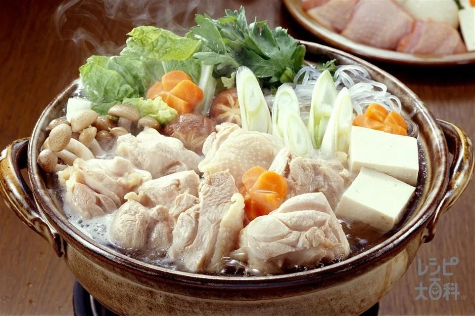水炊き風鍋のレシピ・作り方|【味の素パーク】の料理 ...