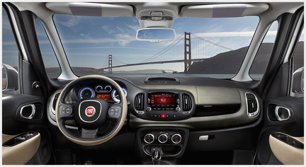 2015 fiat 500l interior. fiat 500l sel lands in india for testing shifting gears 2015 interior i