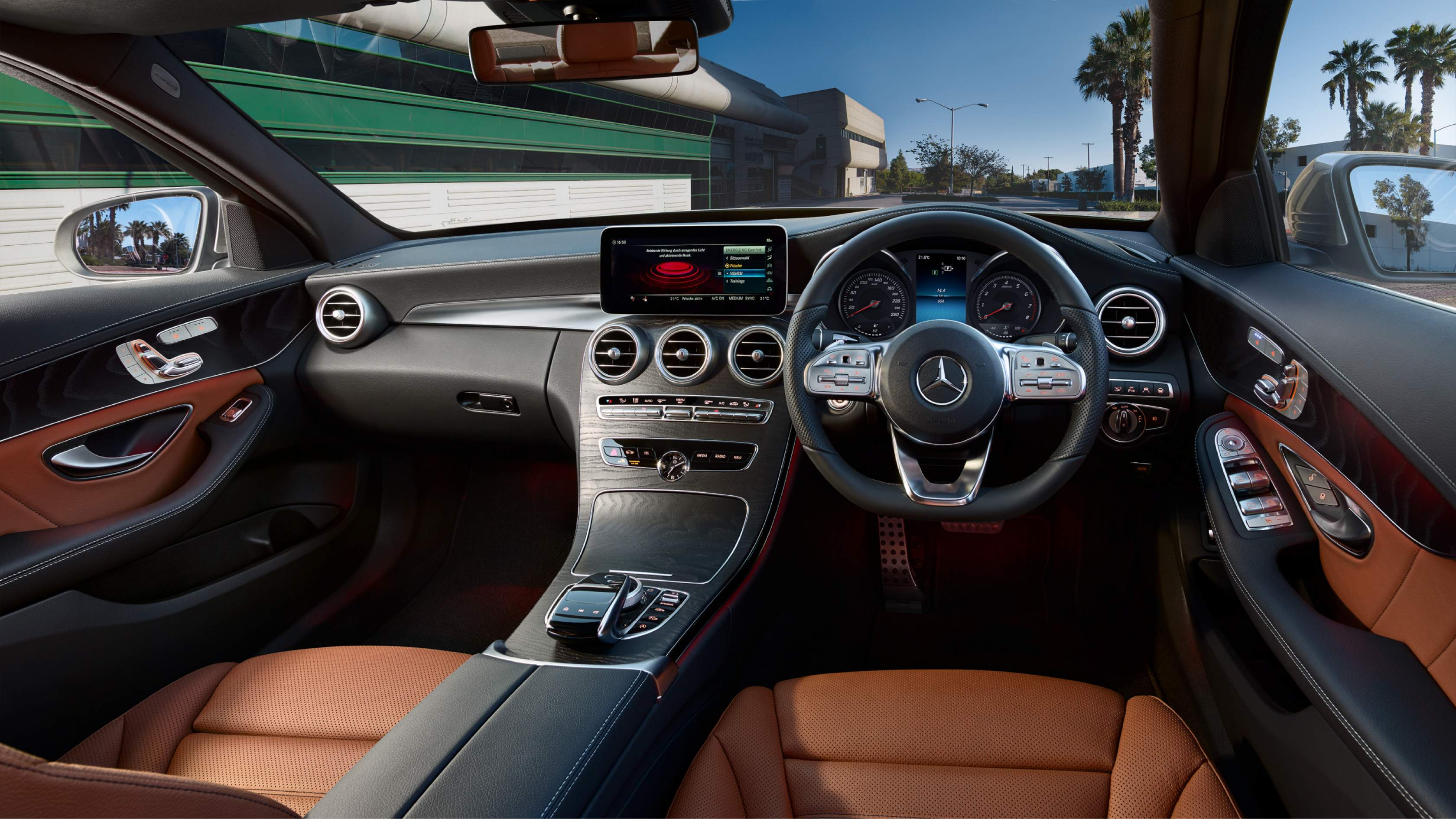 The first example will be shown at the paris motor show. 2018 Mercedes-Benz C-Class facelift launched for INR 40