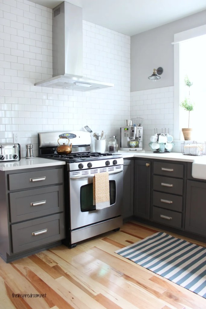 kendall charcoal kitchen