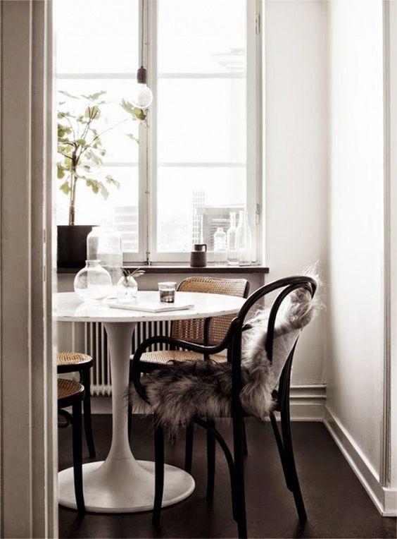 Tulip Tables Park And Oak Interior Design - Rove concepts tulip table