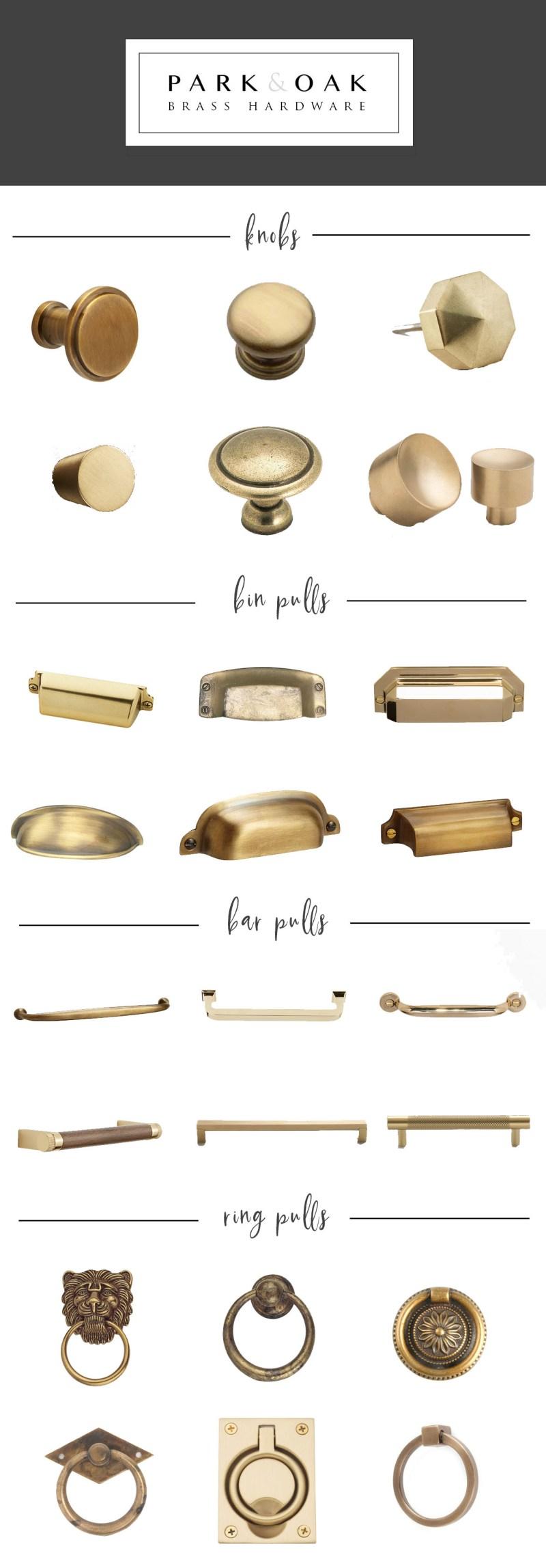 Park & Oak brass hardware
