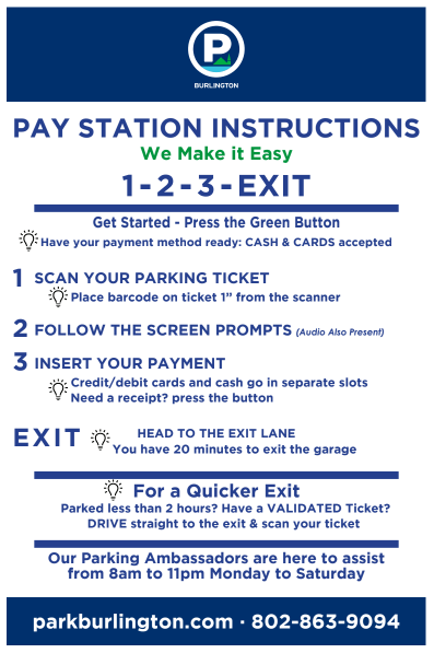 Pay Kiosk Instructions