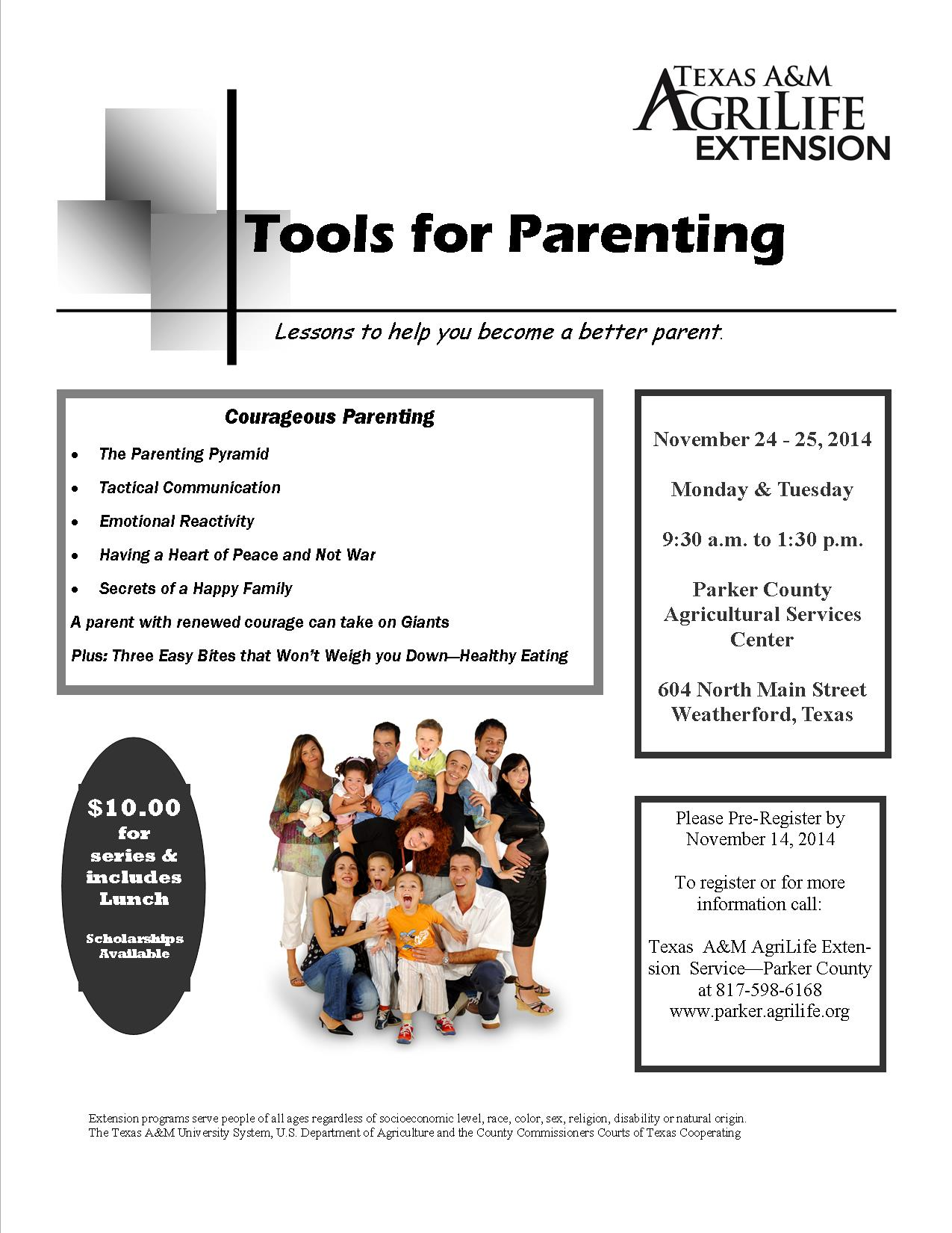 Tools For Parenting