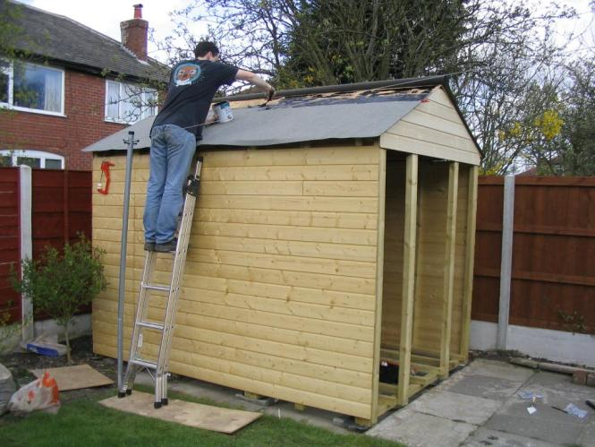 Garden Sheds 7 X 14 how to build a pent roof garden shed - popular roof 2017