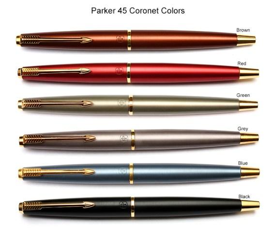 Parker 45 Coronet Colours