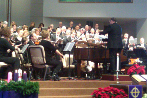 Community Messiah Parker Colorado Parker United Methodist Church Kurt Stroman Directing