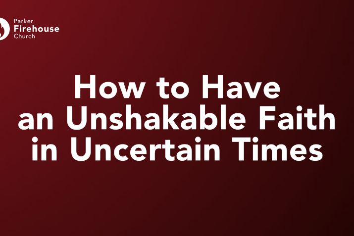 How to Have an Unshakable Faith in Uncertain Times! (Rich Thatcher)
