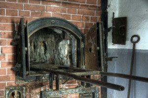 Crematory oven near the gas chamber at Mauthausen