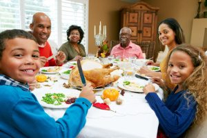 Multi Generation Family Celebrating