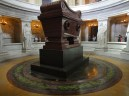 At the Hotel des Invalides - Napoleon's Tomb.  Went there for Preparation day today