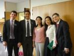 Last photo before Sœur Gao headed back to China!