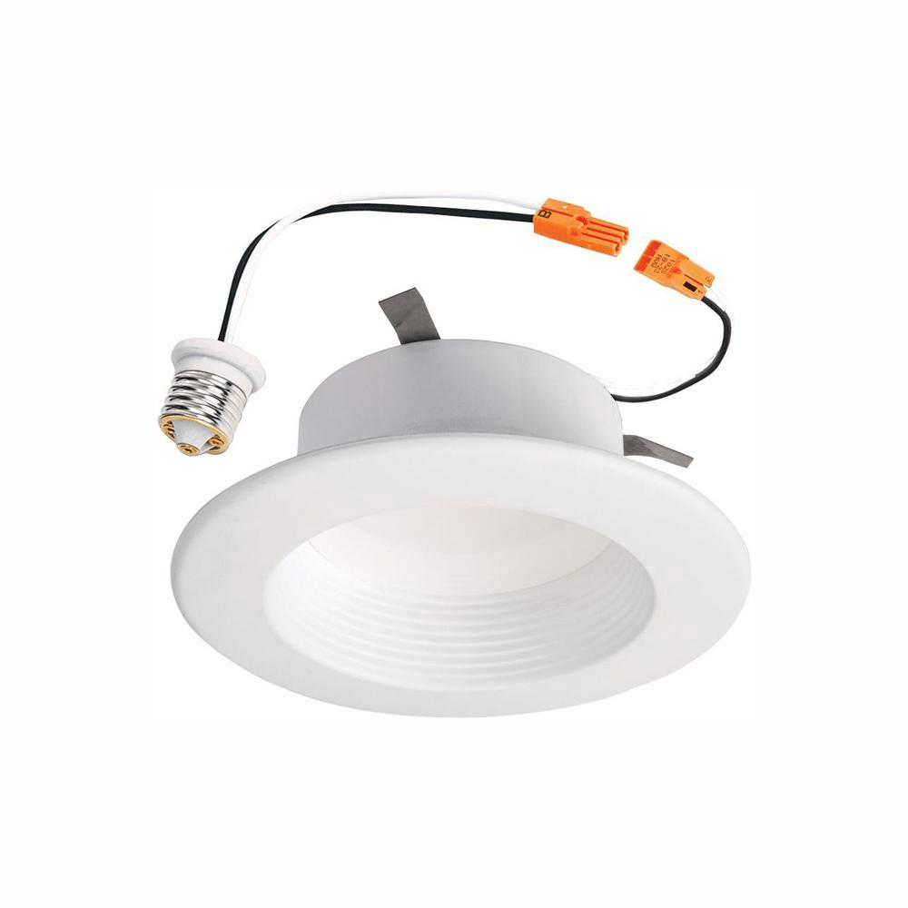 halo 6 in white led recessed ceiling light 2700k 5000k