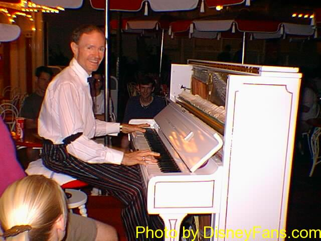 Disneyland entertainment in 1996.