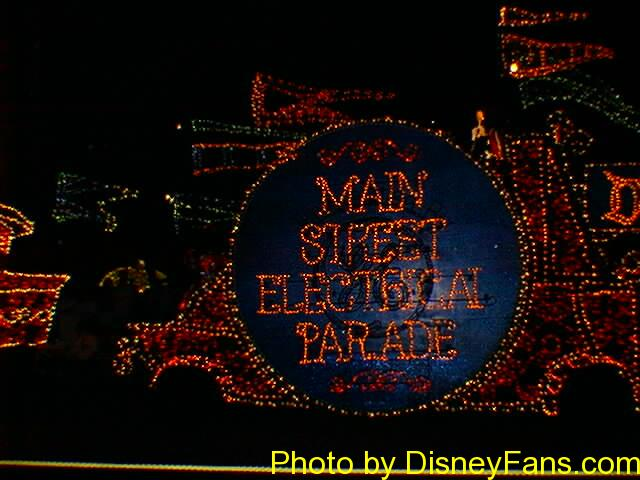 Main Street Electrical Parade in 1996.