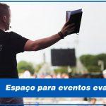 espaço para eventos evangelicos