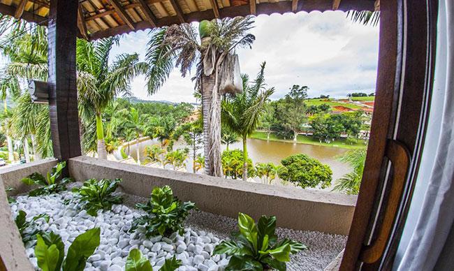hotel fazenda para semana santa - varanda apartamanto