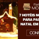 7 Hotéis no Brasil para passar o Natal em família.