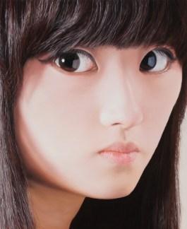 """JinJoo, 65X53cm(25.6X20.8""""), oil on canvas, 2010"""