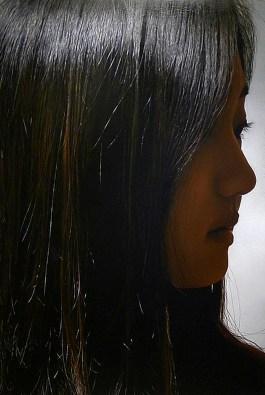 """Yu Jin,194X130Cm(76.3X51""""), oil on canvas, 2012"""