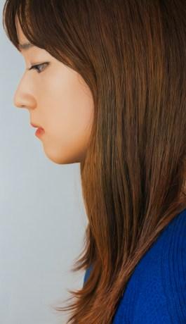 Jee Un194X112Cm(76.3X44″), oil on canvas, 2014