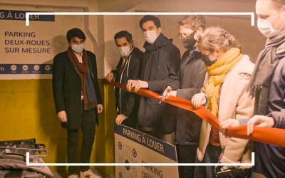 12.5, la plateforme de parking vélo organise sa première inauguration dans le centre de Paris