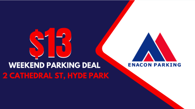 Enacon Weekend Parking Deal