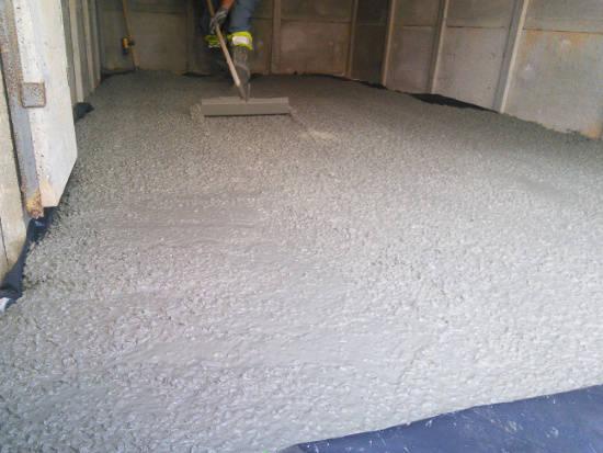 faire des dalles en béton est rentable pour un garage