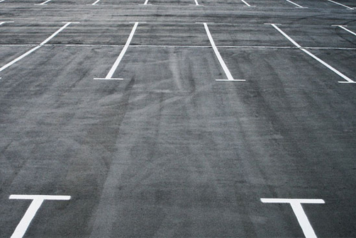 parking management line marking