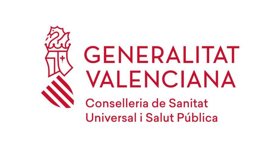 Logotipo de la Conselleria de Sanidad Universal y Salud Pública