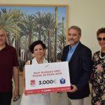 Entrega simbòlica Donativo Racó Solidario UMH 2019
