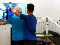 Terapia individual de Fisioterapia con espejo