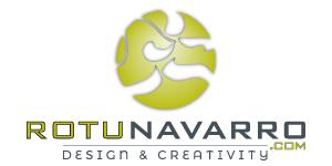 Logotipo Rotunavarro - Empresa de publicidad