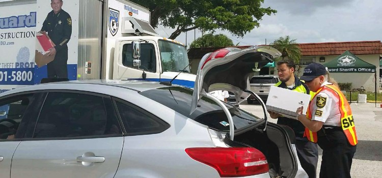 Broward Sheriff's Office Holding Shred-A-Thon in Parkland