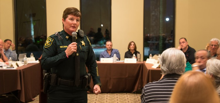 Parkland Residents Meet to Discuss Rash of Auto Thefts