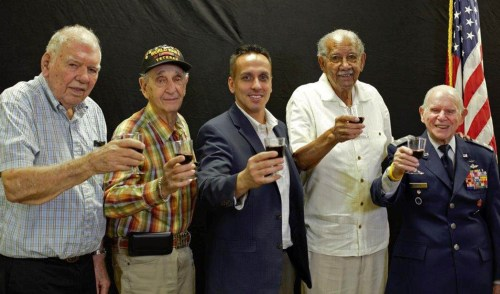 Founder of Honor Flight South Florida Hosts 'Cocktails with Heroes' Event for Local Veterans
