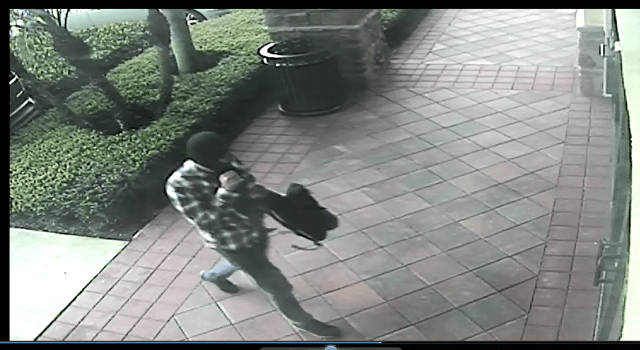 Parkland Bank Robbery Prevented Because Suspect's Outfit Set Off Alarms