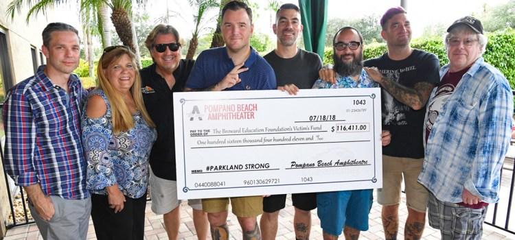 Parkland Strong Benefit Concert Raises Money for the  Stoneman Douglas Victims' Fund