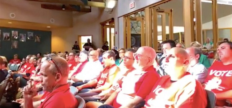 Parkland Residents Protest New Charter School at Special Meeting