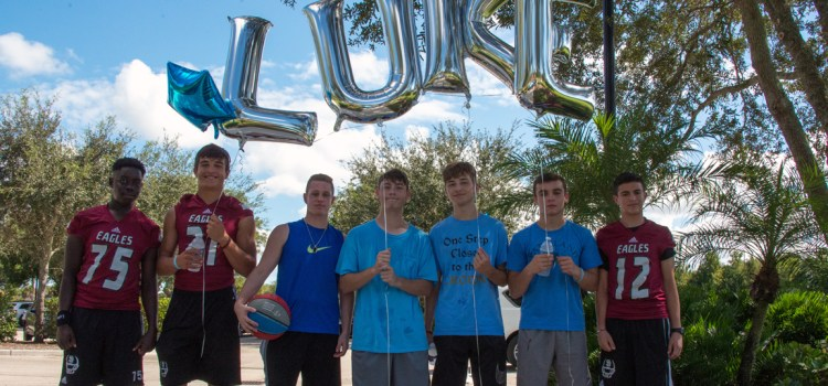 Parkland Community Celebrates the 'Life, Laughter and the Love' of Luke Hoyer at Dedication