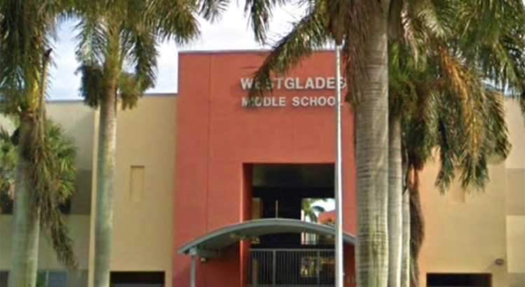Thanks to Local Organizations, Westglades Middle Raises Funds to Make their School Safer