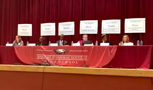 Broward Schools Holds Town Hall on School Safety in Coral Springs