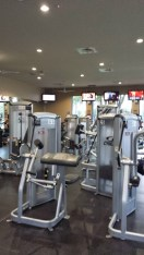 State of the art Fitness Center at The Plaza Del Lago Clubhouse