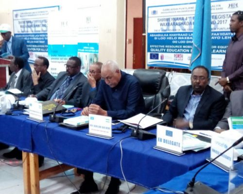 The 4th joint review of the Education Sector in Puntland 2017