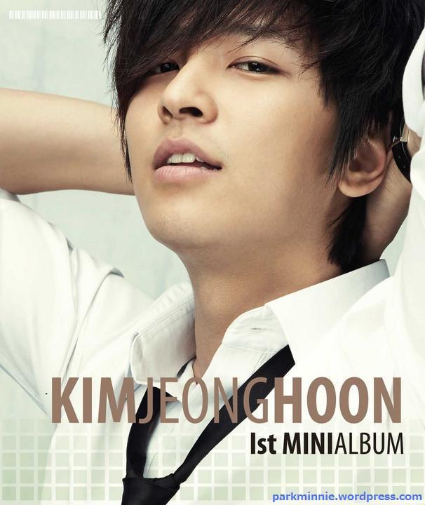 Kim Jeong Hoon - minialbum